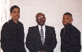 Deacon Garth and two Alpha Phi Alpha Frat Brothers from UTC